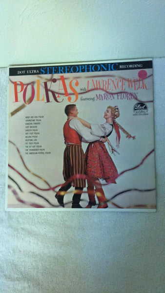 Polkas with Lawrence Welk featuring Myron Floren  LP  DLP-25302 - Wayne James Limited