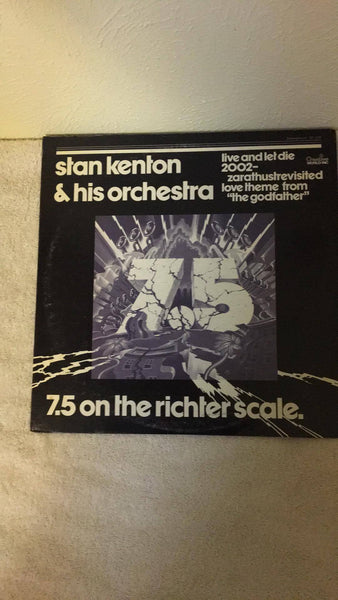 Stan Kenton & His Orchestra  7.5 on the Richter Scale LP  ST 1070 - Wayne James Limited
