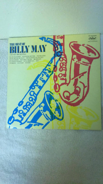 The Best of BIlly May and His Orchestra  MFP-5609 LP - Wayne James Limited