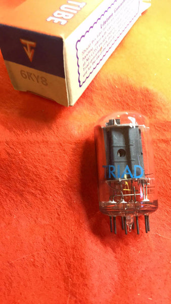 6KY8 6KY8A Triad  vacuum tube  NOS  NIB - Wayne James Limited - 1