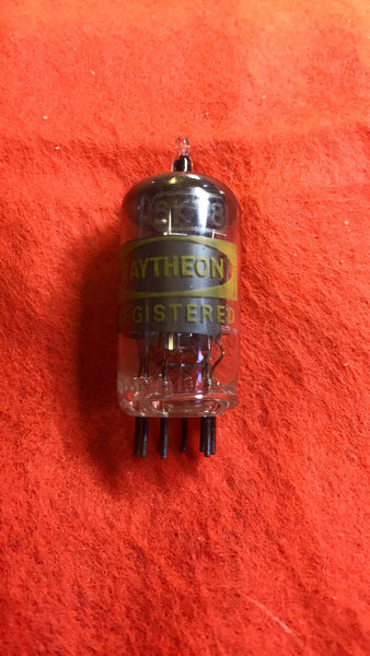6KT8 Raytheon  vacuum tube  NOS  NIB - Wayne James Limited