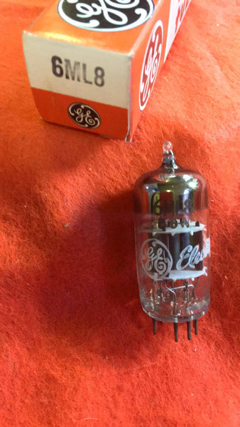 6ML8 GE  vacuum tube  NOS  NIB - Wayne James Limited