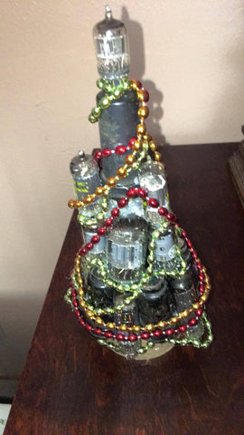 Christmas Tree Primitive Art Vacuum Tube Audiophile Gift - Wayne James Limited