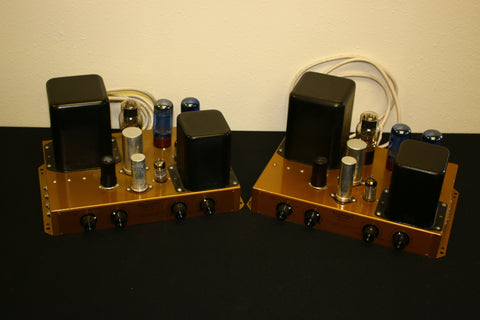 Heathkit GOLD A-9C 6l6G Mono Audio Amplifier Matched pair - Wayne James Limited - 1