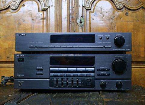 Sony ST-JX431 Tuner and Sony TA-AV531 Amplifier - Wayne James Limited - 1