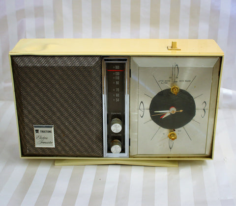 Vintage Trutone Atomic Clock Radio - Wayne James Limited - 1
