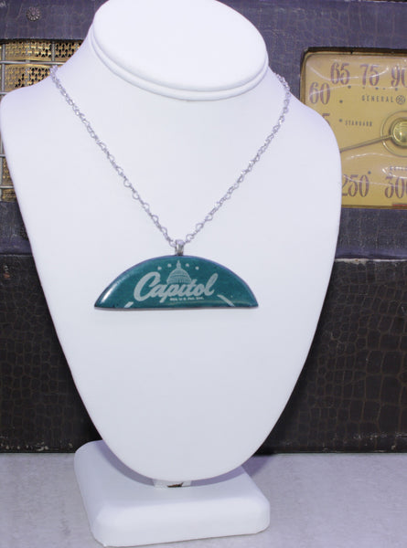 Capitol Records Large Necklace - Wayne James Limited - 1