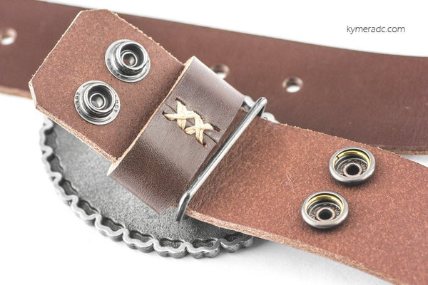 Cinturón BUCKLE BRAND Marrón