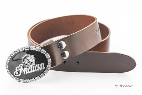Cinturón BUCKLE INDIAN Marrón