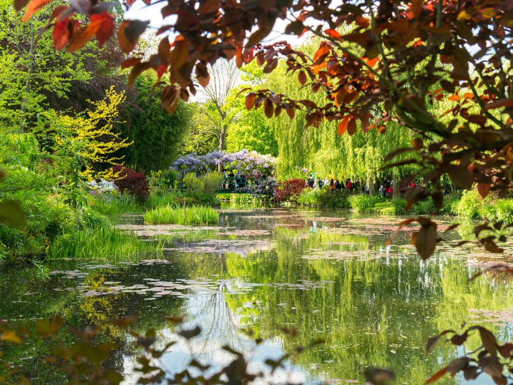 Giverny, a garden full of colors // Giverny, un jardin fort en couleurs