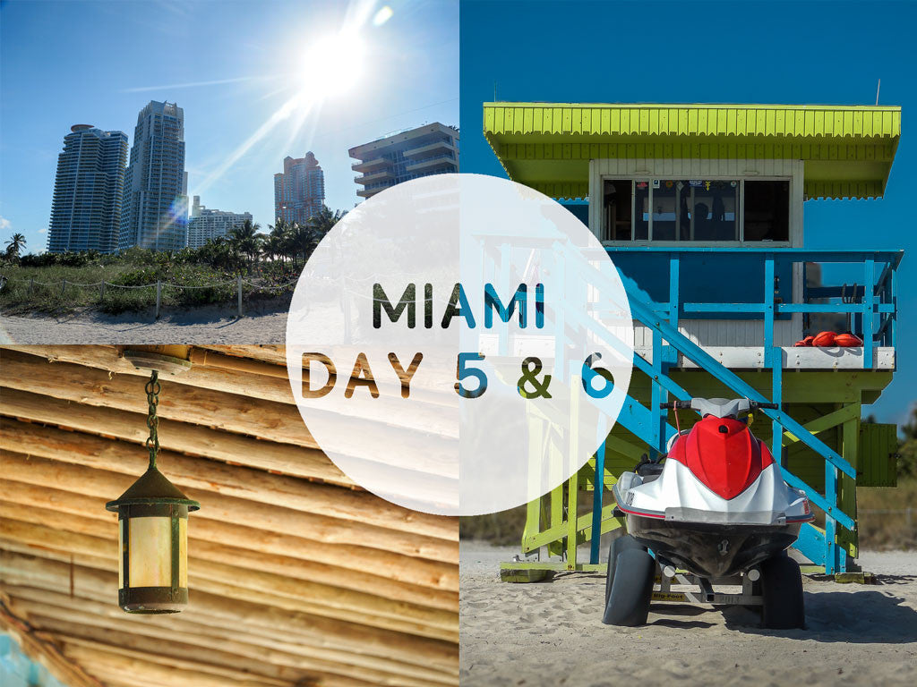 Miami day 5 and 6: Miami Beach and the Bonnet House (Fort Lauderdale) // Miami jours 5 et 6: Miami Beach et the Bonnet House (Fort Lauderdale)