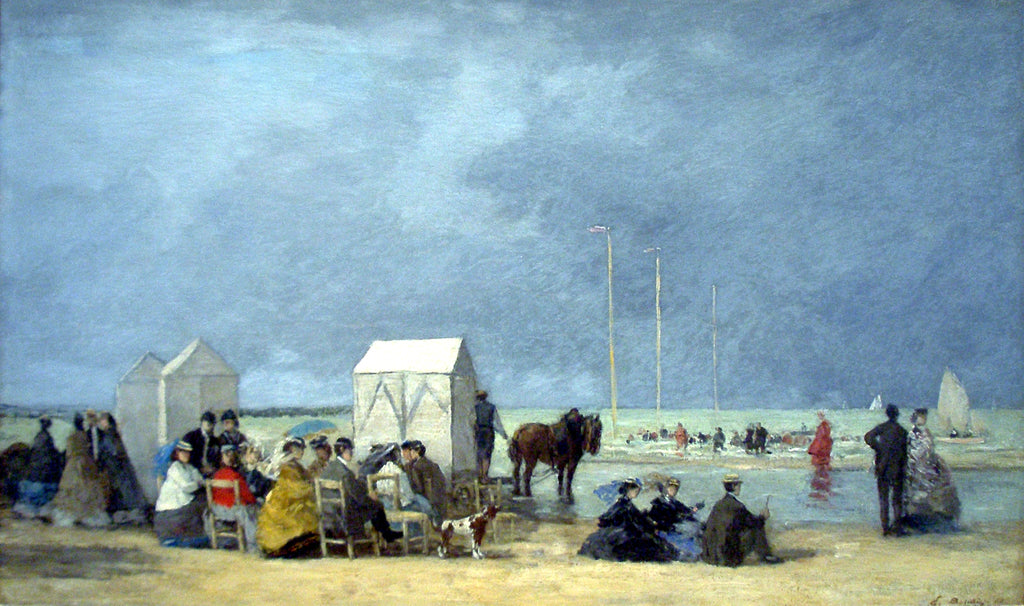 bathing-time-at-deauville-eugene-boudin