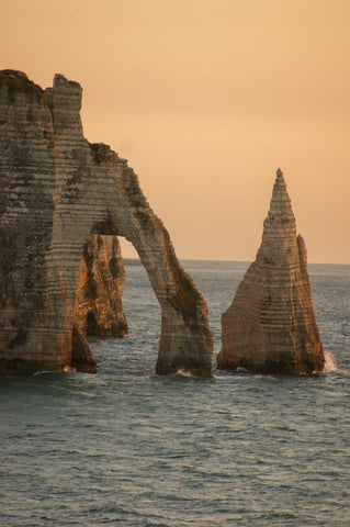 etretat-sunset-aiguille-normandy