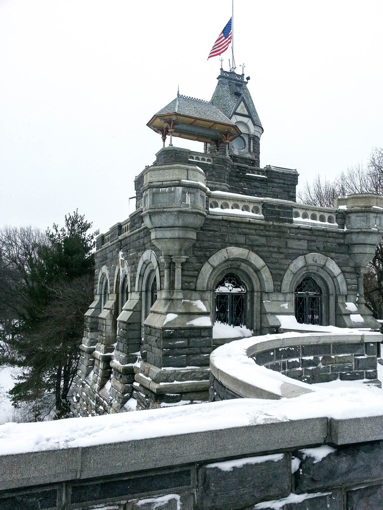 new-york-belvedere-castle-neige