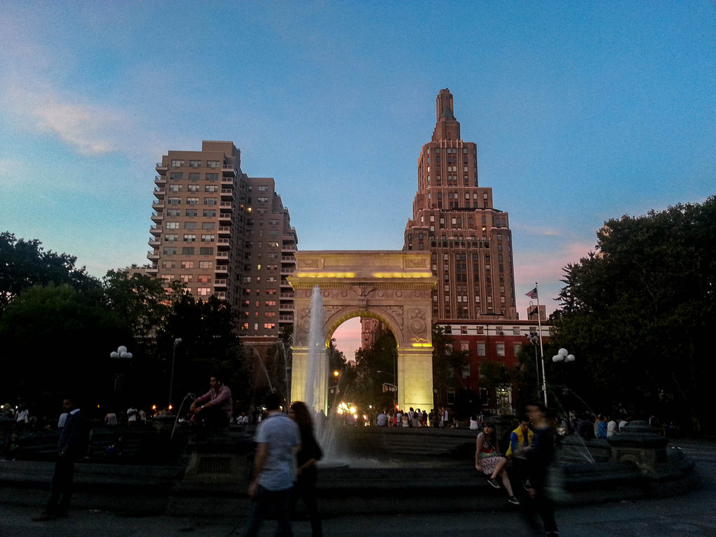 washington-square-sunset