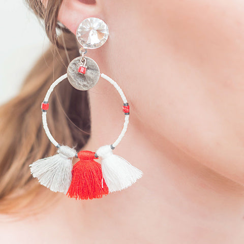 earrings-red-white-gypsy