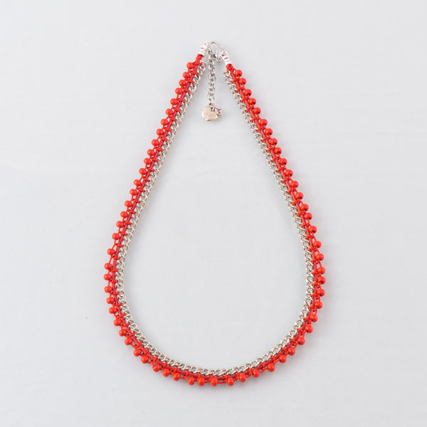 necklace-handmade-red