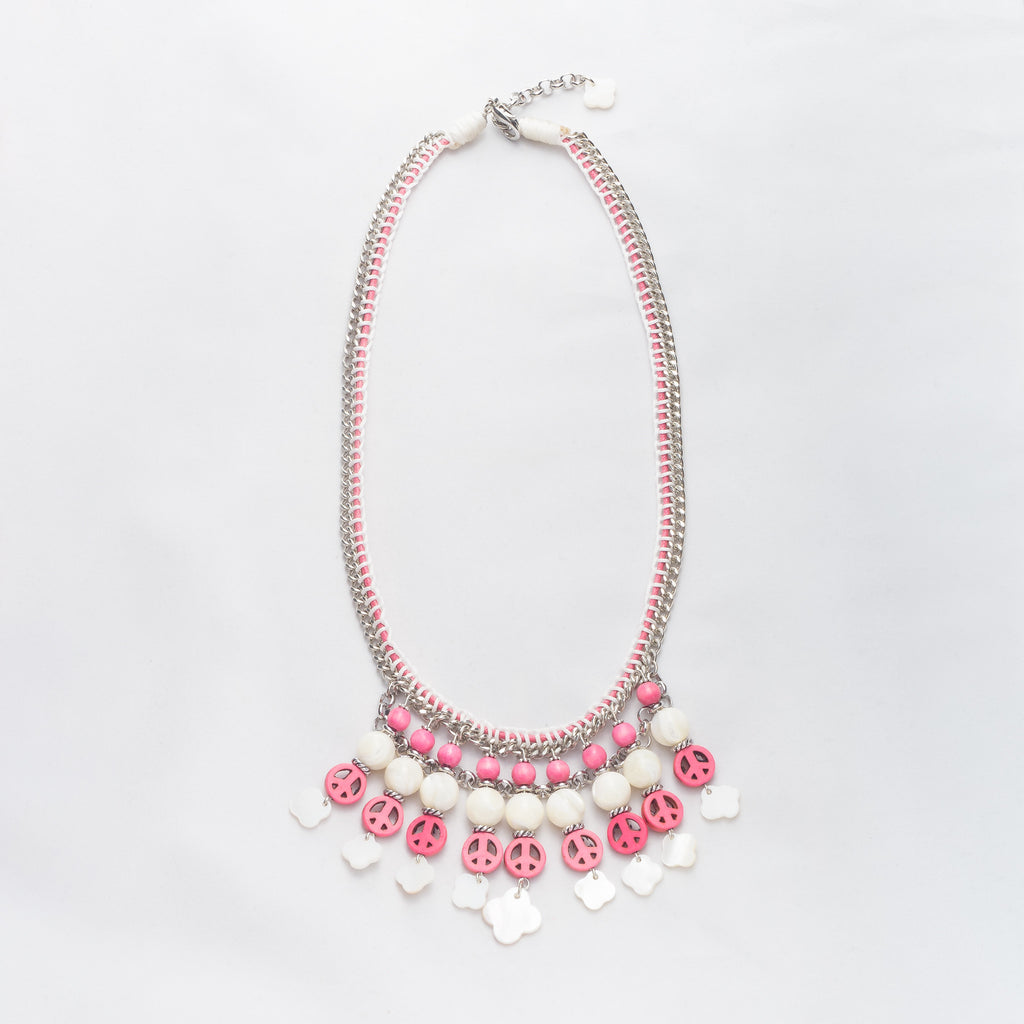 necklace-pink-white