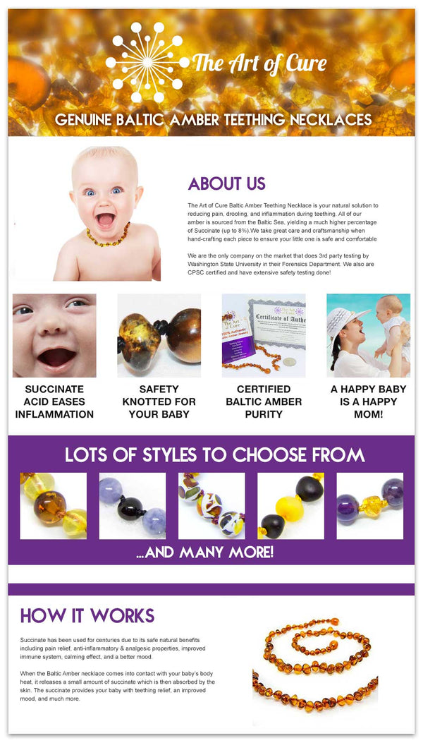 Teething Necklaces Are Safe: Let me tell you why