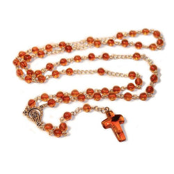 100% Natural HONEY Baltic Amber CHRISTIAN, CATHOLIC ROSARY meditation & prayer beads -  - The Art of Cure