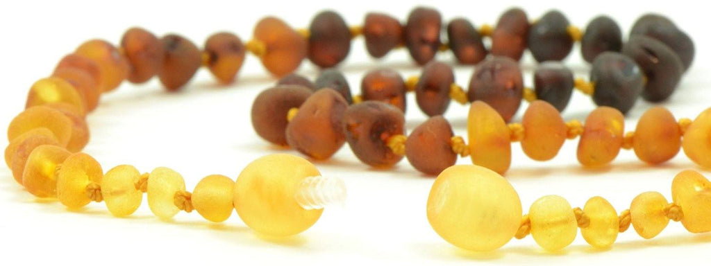 12 5in Certified Baltic Amber Teething Necklace For Baby