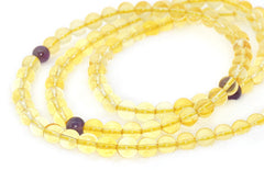 Adult Healing - Healing Jewelry & Mala Meditation Beads (108 Beads On A Strand) Citrine