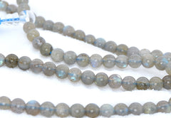 Adult Healing - Healing Jewelry & Mala Meditation Beads (108 Beads On A Strand) Labradorite Or Healing Moonstone