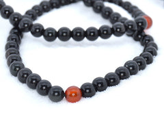 Healing Jewelry & Mala Meditation Beads (108 beads on a strand) Obsidian - Adult Healing - The Art of Cure