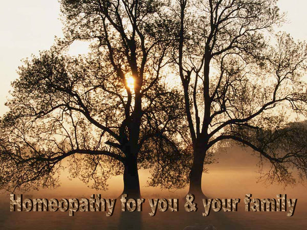 Homeopathy for you & Your family - Homeopathic booklet -  - The Art of Cure