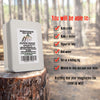 """Get Back"" Survival Kit With Fire Starter Kit and Emergency Mylar Blanket By Aspen Ridge"