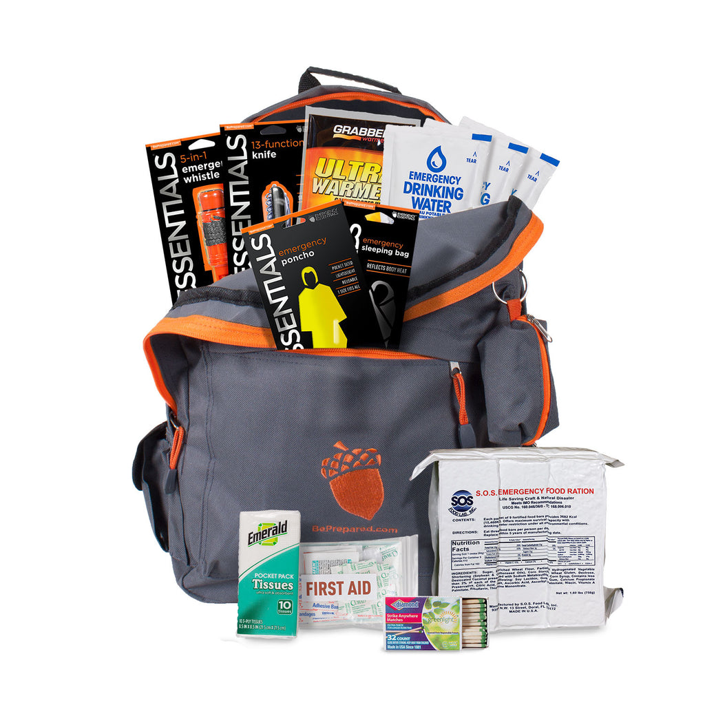 2-Person 72 Hour Emergency Kit for Power Outage, Weather Disasters etc.