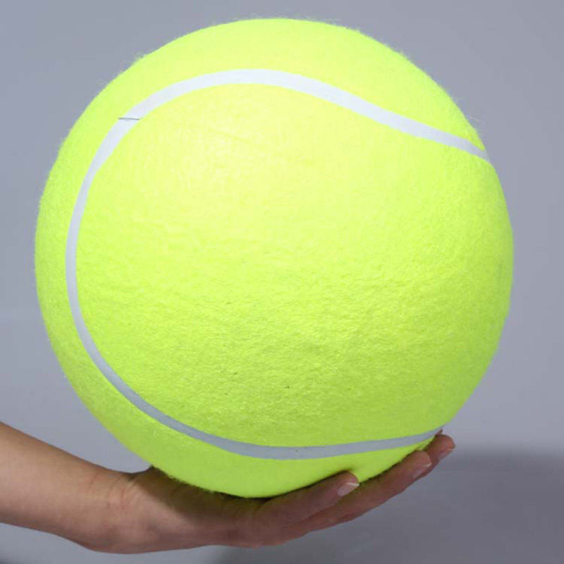 9.5 inch Giant Tennis Ball For Dog Chew Toy Big Inflatable Tennis Ball