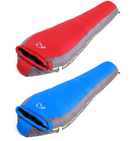 Winter Warm Sleeping Bags mummy Single Travel Bag Ultra-Light
