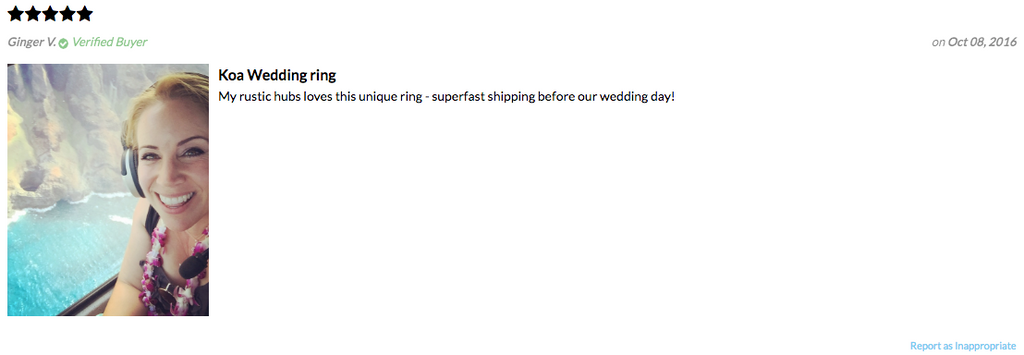 Customer Reviews Northern Royal Rings