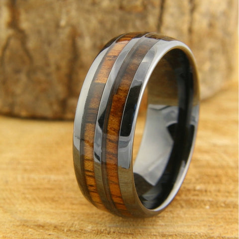 canadians mens unique wedding rings wood wedding bands - Mens Unique Wedding Ring