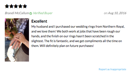Wood Wedding Band Review