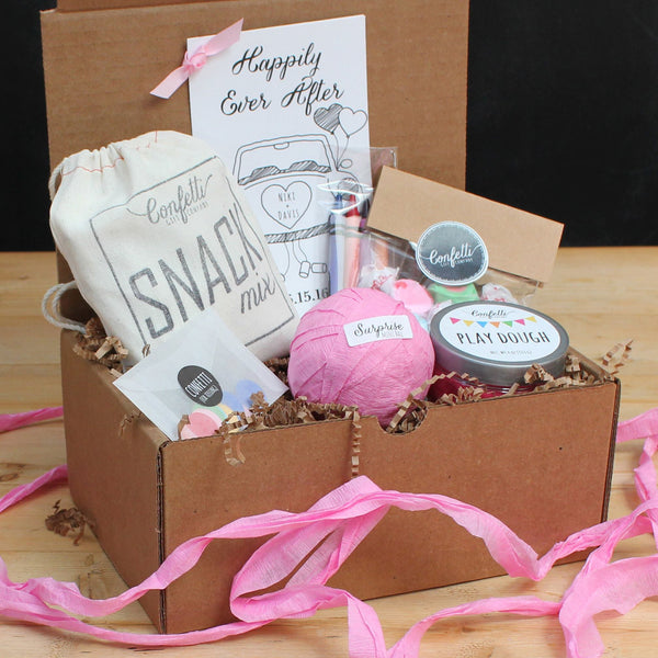 Kids wedding activity box