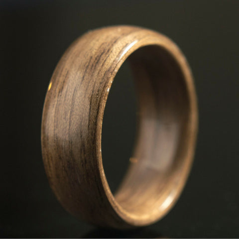 Bentwood Walnut Ring