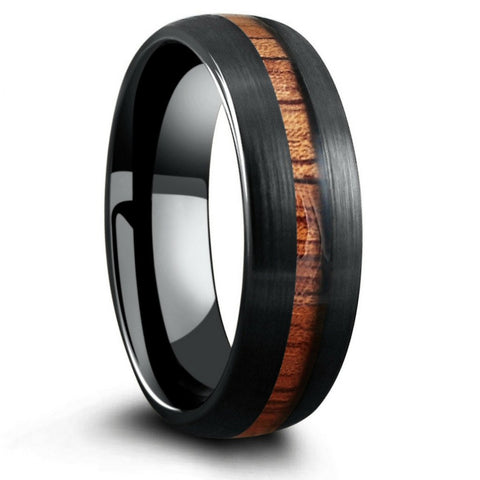 The Black Forest Woodland Wedding Ring
