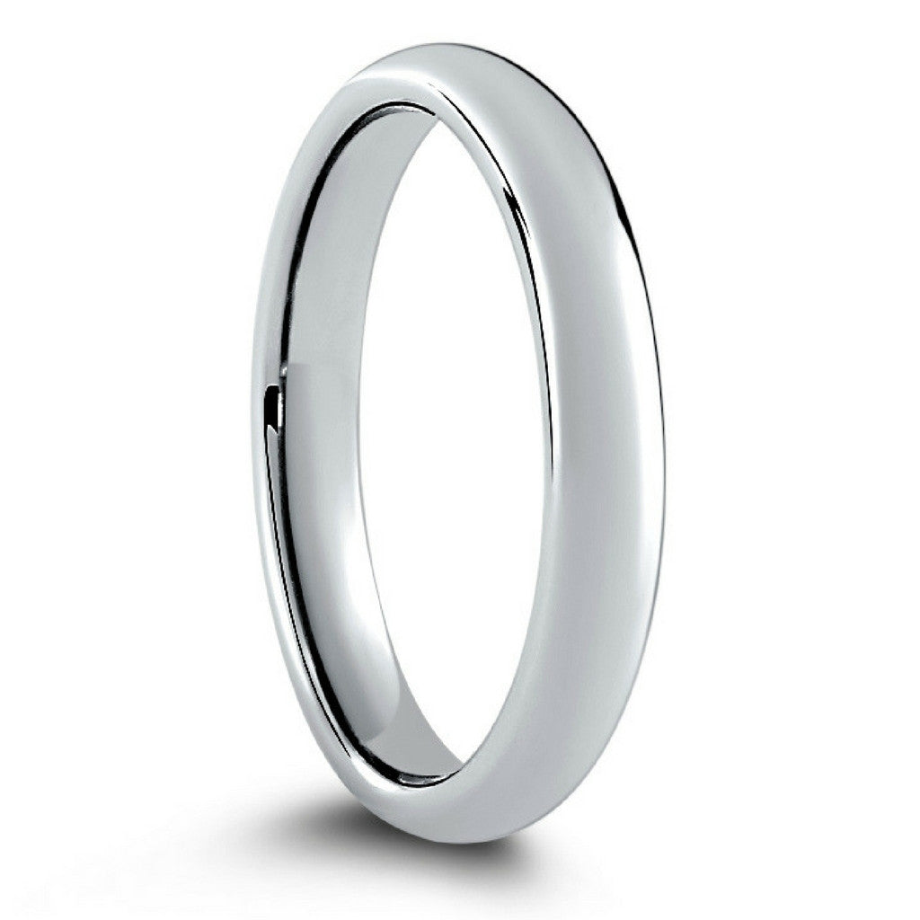 classic silver tungsten wedding band widths 2mm-3mm – northernroyal