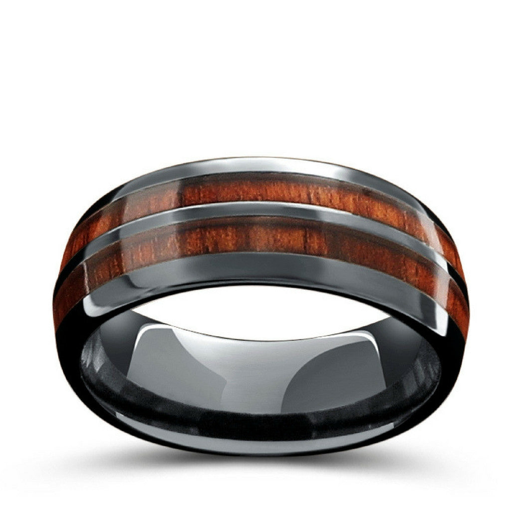 p polished titanium with black edge ring center base c brushed beveled rings high ceramic ti