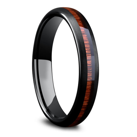 Women's Black Forest Wedding Band