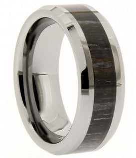 8mm Camo Tungsten Carbide Wedding Ring - NorthernRoyal - 1