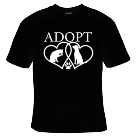 Adopt A Pet T-Shirt Women's - Life Rush Apparel