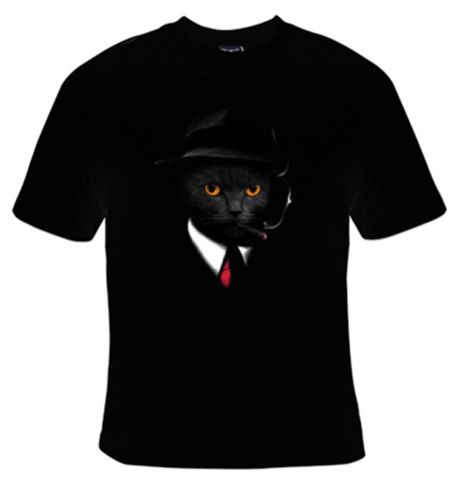 Agent Cat T-Shirt Men's - Life Rush Apparel