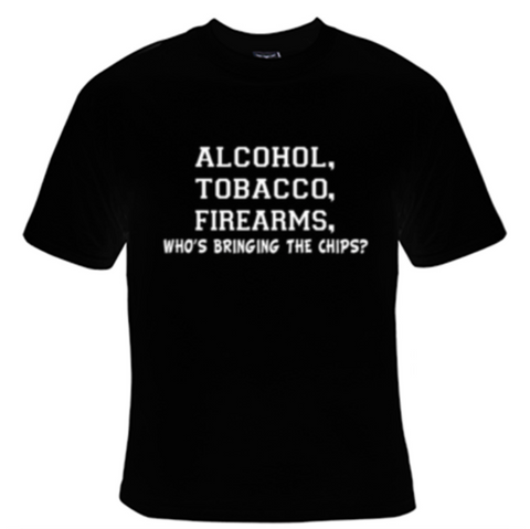 Alcohol Tobacco T-Shirt Men's - Life Rush Apparel