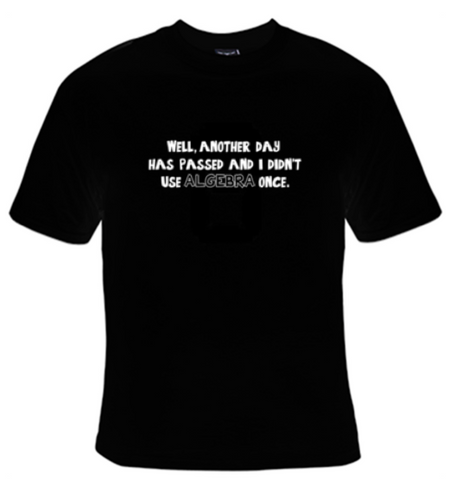 Algebra T-Shirt Men's - Life Rush Apparel