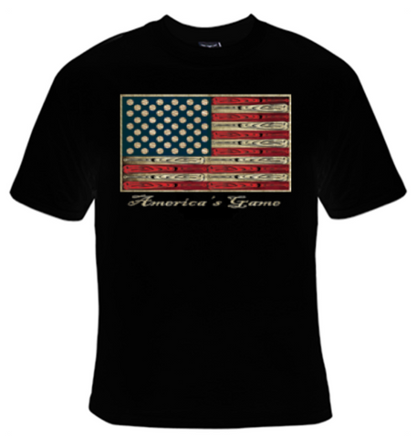 America's Game (Baseball) T-Shirt Women's - Life Rush Apparel