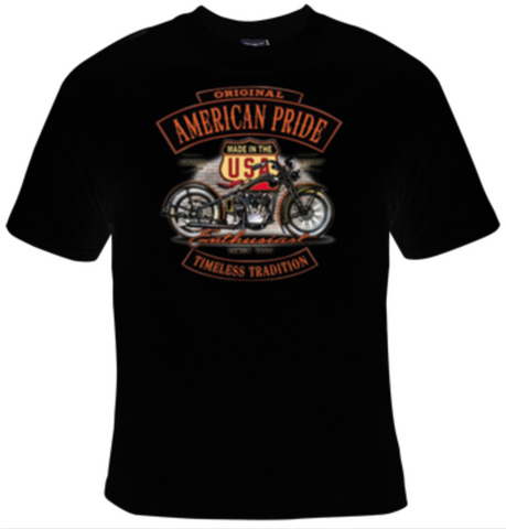 Original American Pride Timeless Tradition Enthusiast Since 1903 T-Shirt Women's - Life Rush Apparel