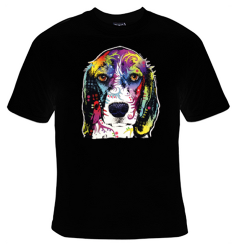 Beagle Neon T-Shirt Men's - Life Rush Apparel